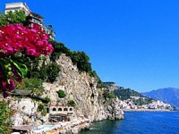 ALL'HOTEL SANTA CATERINA DI AMALFI