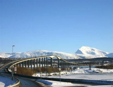 Tromso, la superstrada